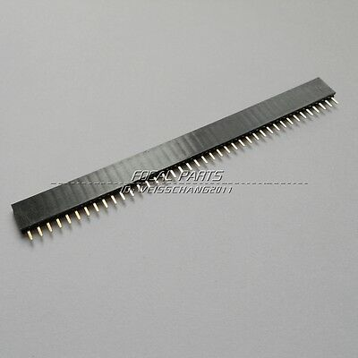 20pcs 2.54mm 40 Pin Female Single Row Pin Header Strip US ship M115