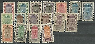 Niger =  Mint Old eraly issue camel s  set - free Air mail