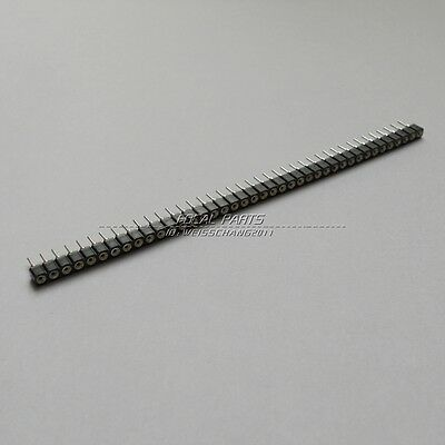 10pcs NEW 1x40 Pin Single Row 2.54mm Round Female Header M114