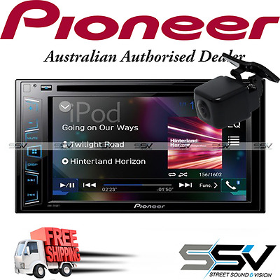 Pioneer AVH-295BT Touch-screen Multimedia player with Bluetooth, iPod/iPhone, US