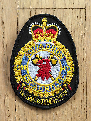 MKartifacts RCAF CF Canadian Air Force Heraldic 400 Squadron Crest Badge Patch