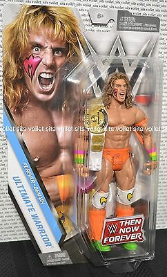 """New/Sealed WWE Then Now Forever Series 7"""" Action Figure Ultimate Warrior"""