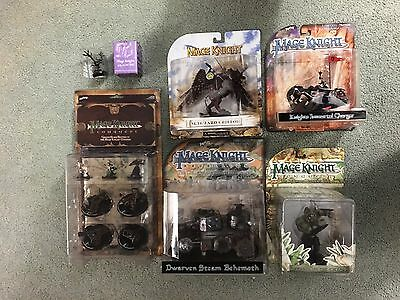 Mage Knight Conquest Siege Pack Ballista Mortar Cannon Stone Thrower, Figs & Orc