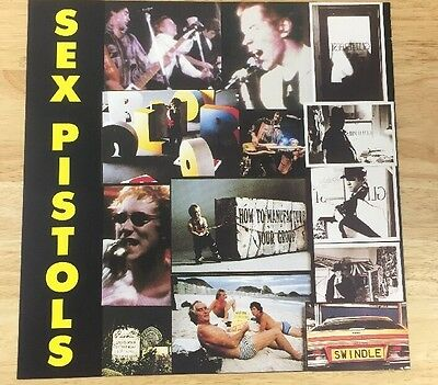 Sex Pistols The Great Rock'n Roll Swindle 1992 Promotional Poster 12x12