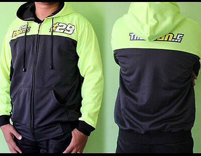 TOP NEW Andrea IANNONE SUZUKI Ecstar Racing Team MotoGP Pit Hoodie M L XL Size