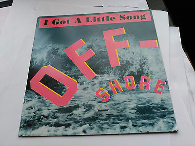Single Off-Shore - I Got A Little Song - Dance Pool Germany 1991 Vg+