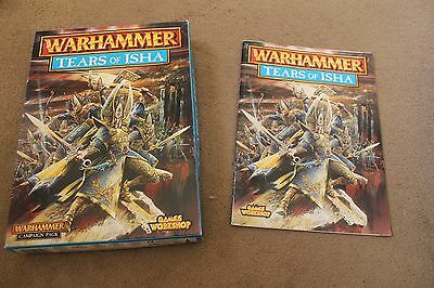 Warhammer Tears of Isha Supplement Rule Book with Box Superb