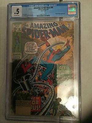 Amazing Spider-Man 88 CGC 0.5 Comic