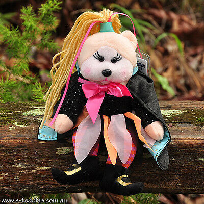 NEW Tabitha the Witch Bear - Beanie Kid Collectable