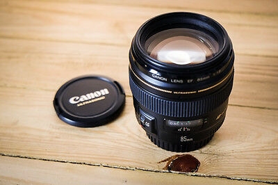 Objectif Canon EF 85mm f/1.8 USM COMME NEUF