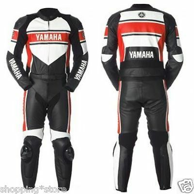 Yamaha Motorcycle Racing Leather Suit Motorbike Suit Jacket Trouser All-Size