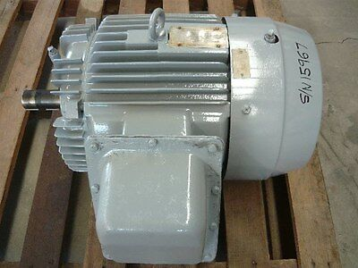 Toshiba 30Hp 3 Phase Electric Motor/ 2930Rpm