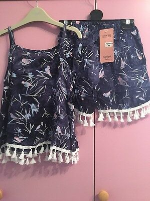 Girls 2 Piece Set Age 9-10 New With Tags