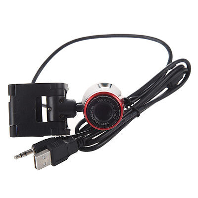 USB 2.0 Clip-On Webcam Camera 5 Megapixels with Microphone MIC for SKYPE HD G8L4