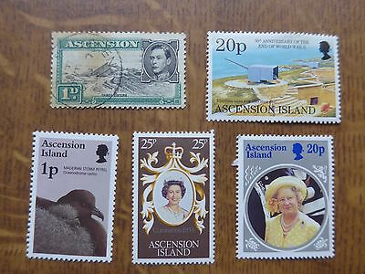 Ascension Island - 5 stamps