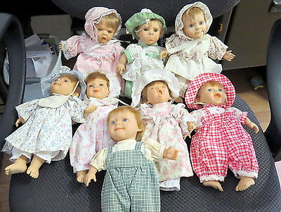 "8  9"" Berenguer Expressions Dolls, J.c. Toy Group"