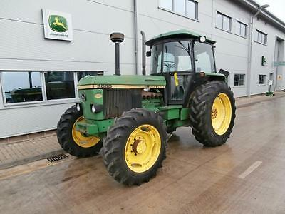 1984 John Deere Classic Tractor 3050 90hp 30k HiLo 6669 Hours SG2 Cab
