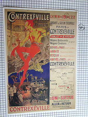 Contrexeville Source Du Pavillon Advert Postcard