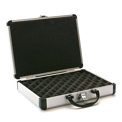 Travel Case for 4 Tattoo Machines with Protective Foam Inserts & Safety Latch