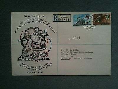 First day cover Rhodesia and Nyasaland