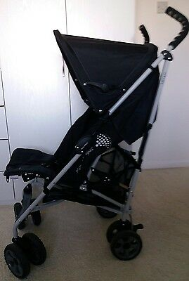 mamas and papas Tempo pushchair / stroller / buggy with raincover and footmuff