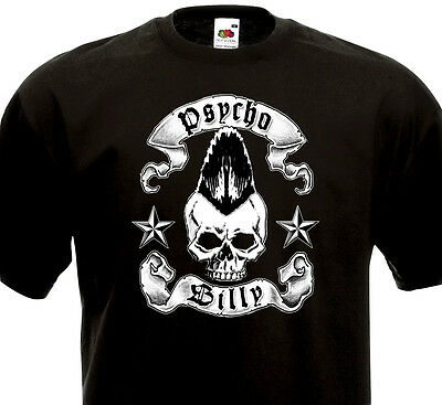 368e7d9f4 T-shirt PSYCHOBILLY Batmobile Meteors King Kurt Cramps Demented are Go  Klingonz