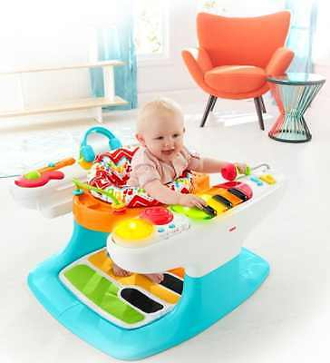 Baby Activity Center Step Play Piano Walker Seat Music Keyboard Mat Light Gym