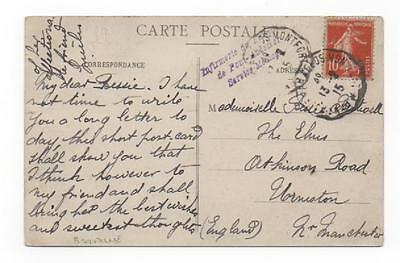 1915 France to GB - Medical
