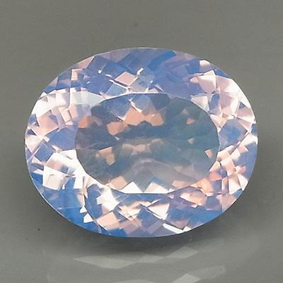 9.30ct.MAJESTIC GEM! 100%NATURAL PURPLE PEARL AMETHYST OVAL FACET