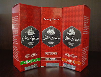 Old Spice After Shave Lotion 50 ml, Soothes Freshens For Men, New Pack!!