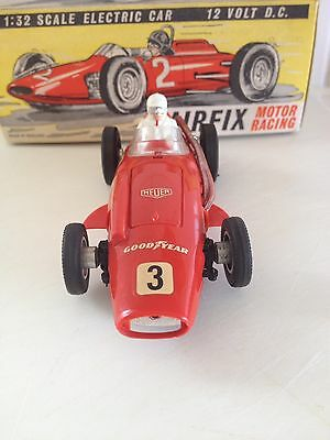 Vintage Scalextric Airfix /MRRC MASERATI MK11 IN THE BOX SUPERB CAR LOVELY