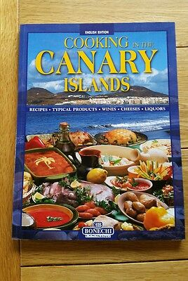 Cooking in the Canary Islands cook book