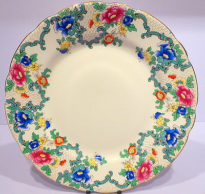 Vintage Royal Cauldon Victoria Dinner Plate 9.5ins