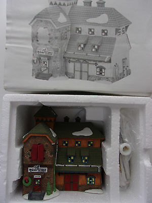 Dept 56 New England Village Mc Grebe Cutters and Sleighs