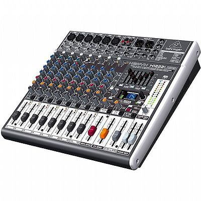Behringer X1222 USB Xenyx 16 Channel Mixer + Tracktion 4 Audio Production Sof...