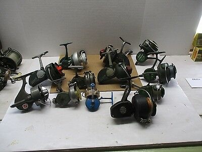 Vintage Langley Reels And More ** 12-Spinning Reel Set ** Estate Find ***