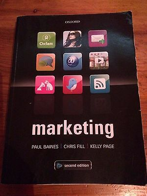Marketing Baines Fill Page 2nd Edition