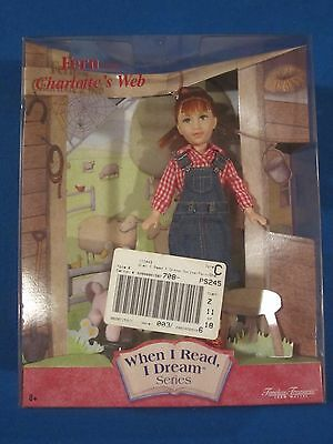 MATTEL Fern from Charlotte's Web Doll - When I read, I dream Series Never Opened