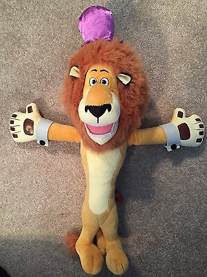 Reduced!  Madagascar 3 ALEX LION Promotional Toy, Plush 2012 Dreamworks 18""