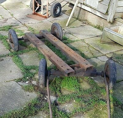 Stationary  engine  trolley (cash on collection)