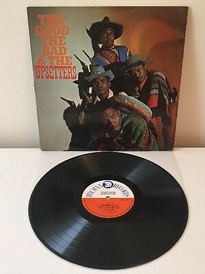 The Upsetters The Good the Bad and the Upsetters Vinyl LP 1970 Trojan TBL119