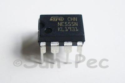 ST NE555 GENERAL PURPOSE BIPOLAR TIMERS DIP8 18V 200mA 5-20pcs