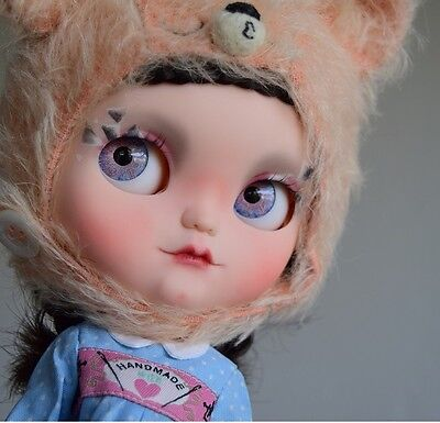 "OOAK Blythe Doll Custom #27 ""Suki"" by Ginas.Doll.ART"