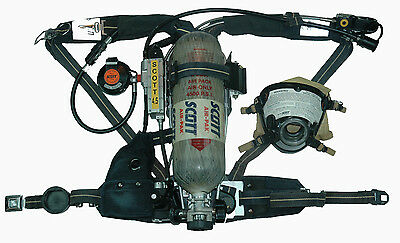 scott 4 5 ap50 scba cbrn regulator hud rit uac firefighter air pack rh picclick com