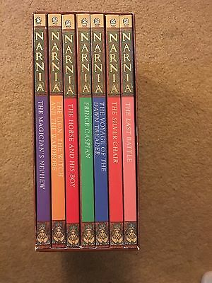 Chronicles of Narnia by C. S. Lewis (Paperback, 1990)