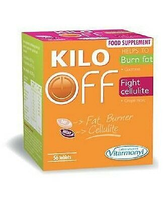 Kilo Off - Fat Burner & Cellulite  (Tablet  Form) - Weight Loss 56 Tablets