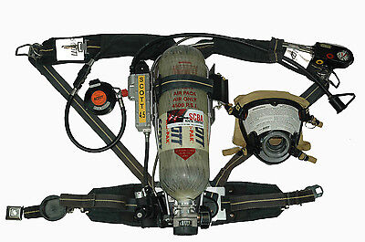 Scott 4.5 AP50 SCBA 2002 Edition  w/ HUD's & RIT - OVERHAULED READY TO USE!