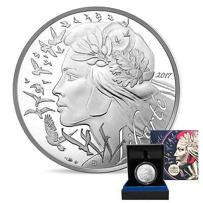 2017 Marianne 18g Proof Silver Coin