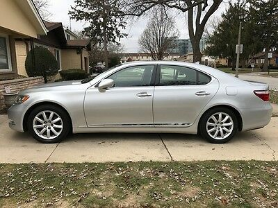 2008 Lexus LS LS460 LEXUS LS460 CLEAN CARFAX LOW MILES LOADED NAVIGATION HEATED SEATS COOLED SEATS