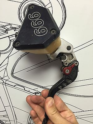 Ducati 749 999 Brembo Front Brake Master Cylinder Of A 999R 2005 Part#62440341A